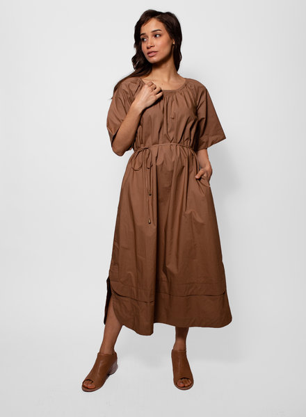 Apiece Apart Zagare Dress Camel