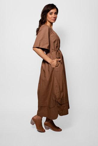 Apiece Apart Zagare Dress Camel