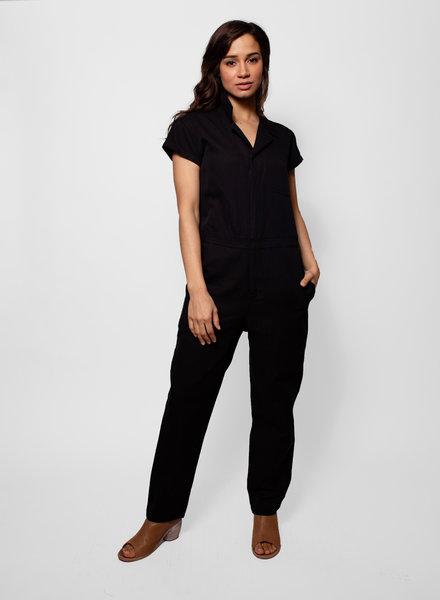 Apiece Apart Azore Jumpsuit Black