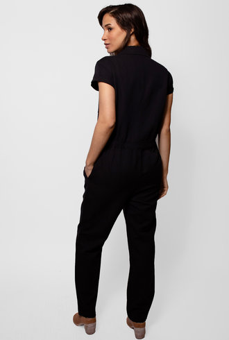 Apiece Apart Azore Jumpsuit Black