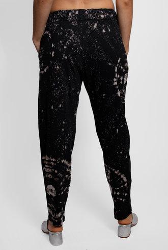 Raquel Allegra Black Constellation Jersey Easy Pant
