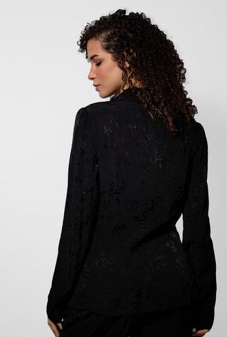 Raquel Allegra Black Shawl Blazer