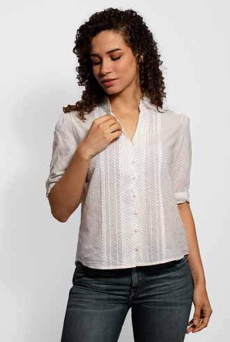 Trovata Eloise Pintuck Shirt