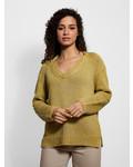 Inhabit Chunky V Neck Pullover