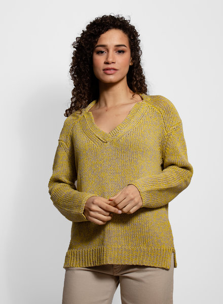 Inhabit Chunky V Neck Pullover