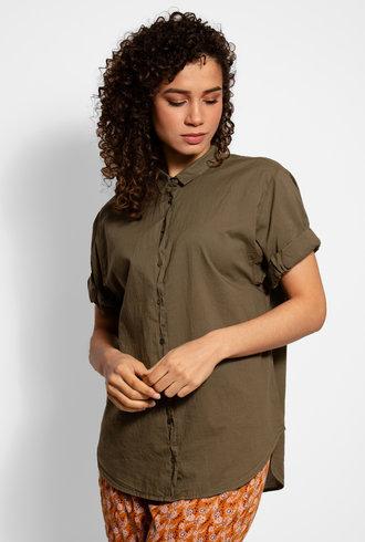 Xirena Channing Shirt Bottle Green