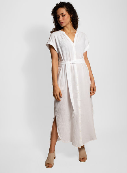 Xirena Samantha Dress White