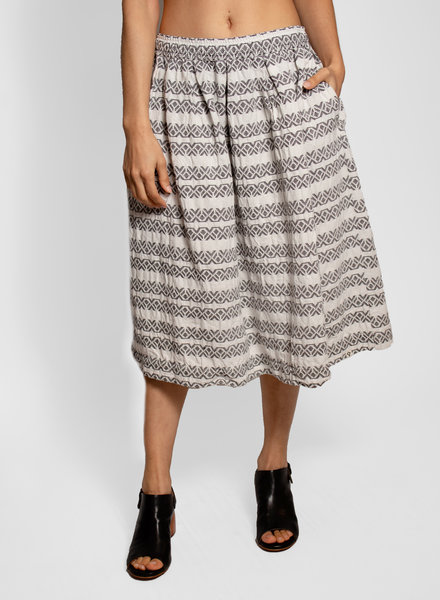 Bsbee Gemma Skirt White