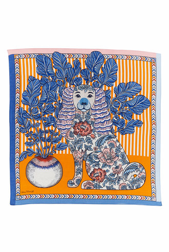 Inouitoosh Thelma Bandana Scarf Orange