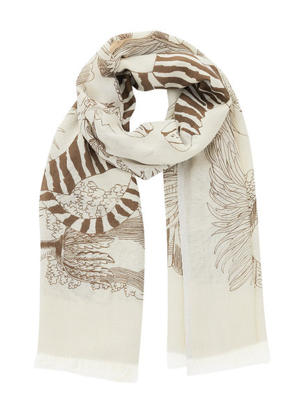 Inouitoosh Petrichor Scarf Natural / Naturel