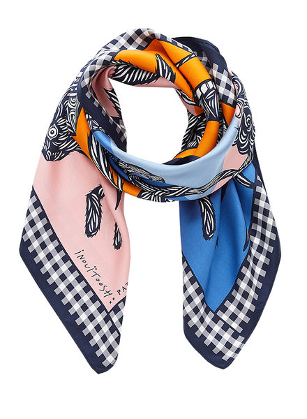 Inouitoosh Jardin Scarf Orange