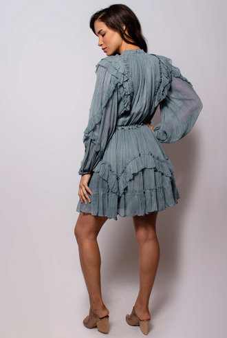 Ulla Johnson Aberdeen Dress Slate