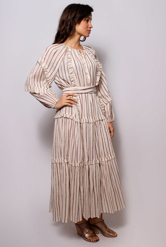 Ulla Johnson Imari Dress Cream