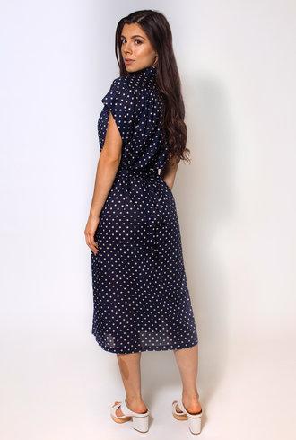 Trovata Astrid Shirt Dress Navy