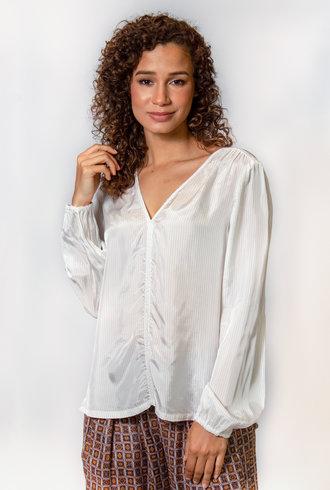 Raquel Allegra Marlene Top Dirty White