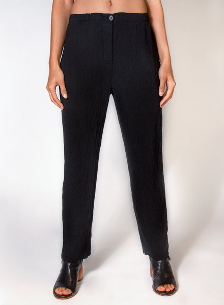 Raquel Allegra Cropped Pant Black