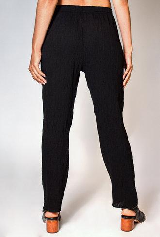 Raquel Allegra Cropped Pant Black
