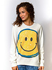Raquel Allegra Classic Sweatshirt Dirty White Smile