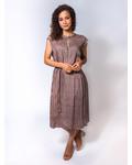 Raquel Allegra Shift Dress Golden Foulard