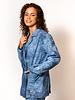 Raquel Allegra  Boyfriend Blazer Blue Tie Dye