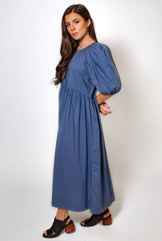 The Great The Ravine Dress Dutch Blue