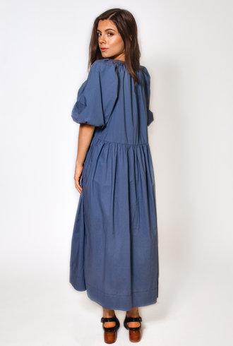 The Great The Ravine Dress Dutch Blue