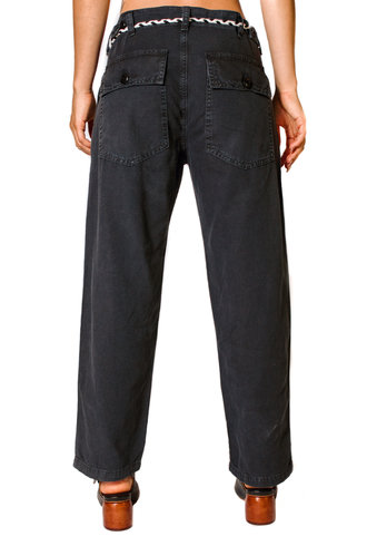 The Great The Vintage Army Pants Washed Black