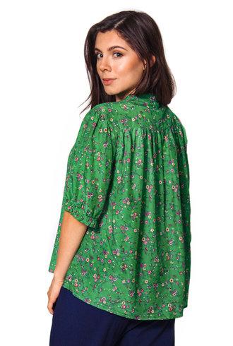 Xirena Eden Shirt Green Grass