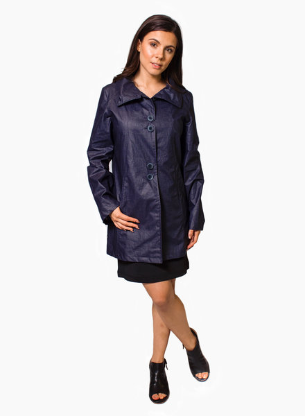 Pret Pour Partir Tiffany Lib Coat Navy