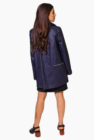 Pret Pour Partir Tiffany Lib Coat Navy