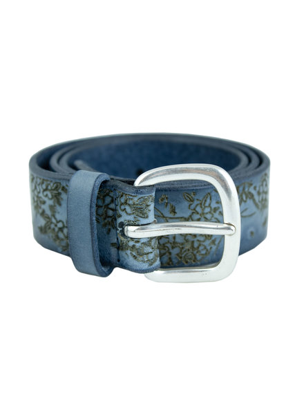 Orciani Stain Belt Denim
