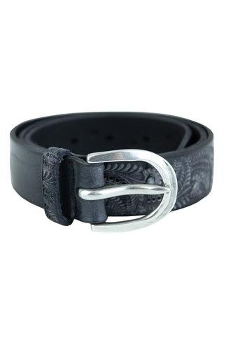 Orciani Soapy Stain Belt Nero Black