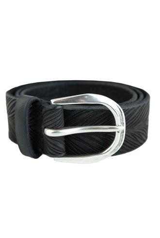 Orciani Stain Belt Nero Black