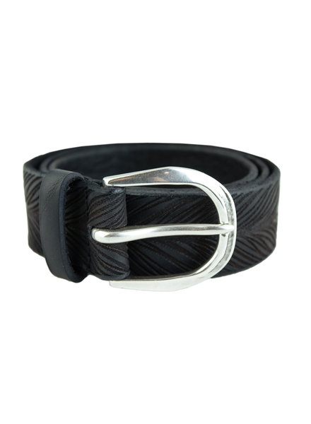 Orciani Stain Belt Nero Black