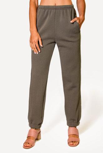 Xirena David Fleece Pants Olive