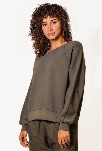 Xirena Miles Sweatshirt Olive