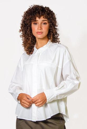 Xirena Landry Shirt Crystal White