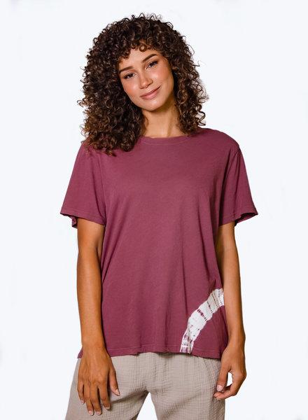 Raquel Allegra Basic Tee Dark Blush