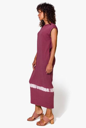 Raquel Allegra Column Dress Dark Blush