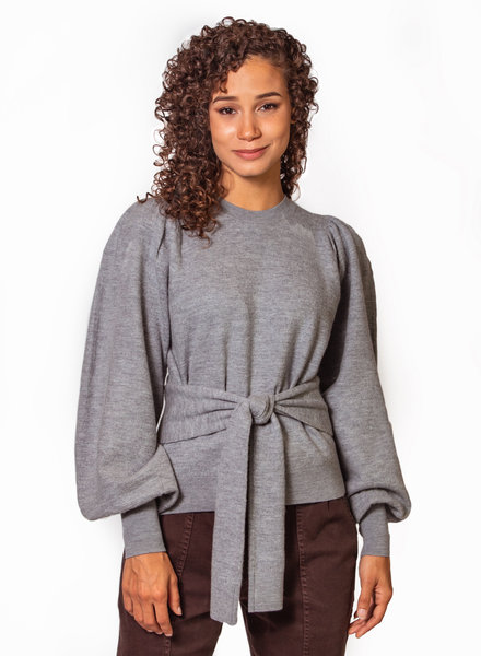 Ulla Johnson Rubi Pullover Light Heather Grey