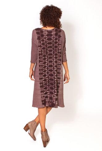 Raquel Allegra Cocoon Dress Mauve