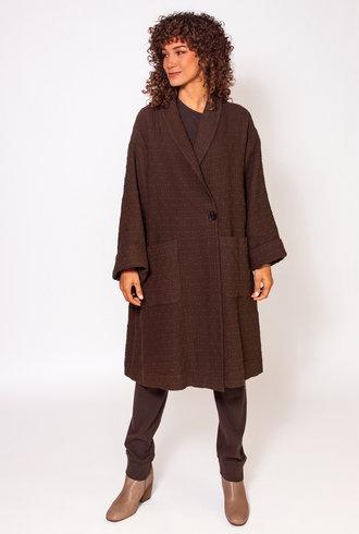 Raquel Allegra Quilt Coat Olive