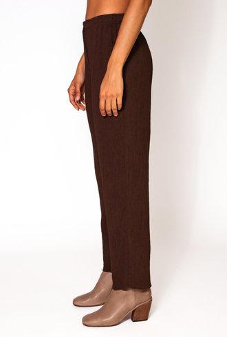 Raquel Allegra Cropped Pant Olive