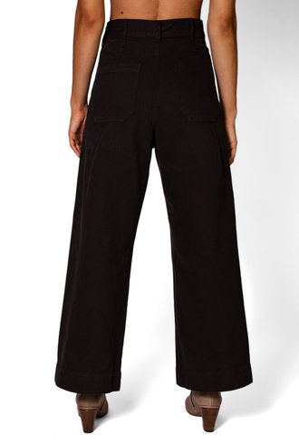 The Great The Seafarer Pant Almost Black