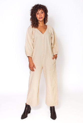 The Great The Field Jumpsuit Cream