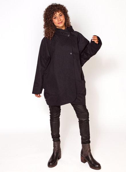 Pret Pour Partir Paola Coat Blue-Black