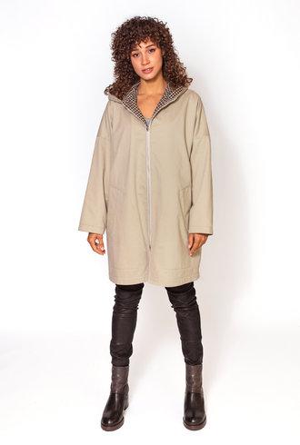 Pret Pour Partir Thelma Reversible Coat Beige