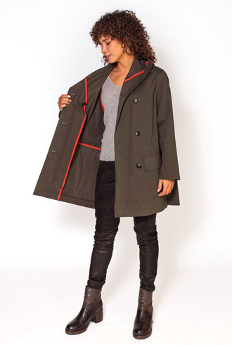 Pret Pour Partir Tatiana Coat Bronze