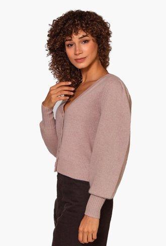 360 Sweater Paisley Adobe Pink