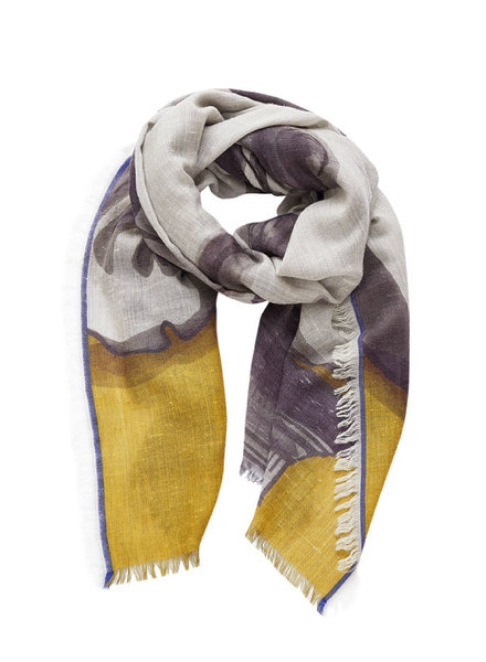 Inouitoosh Le Baiser Scarf Yellow